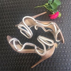 Alexandre Birman Braided Sandals